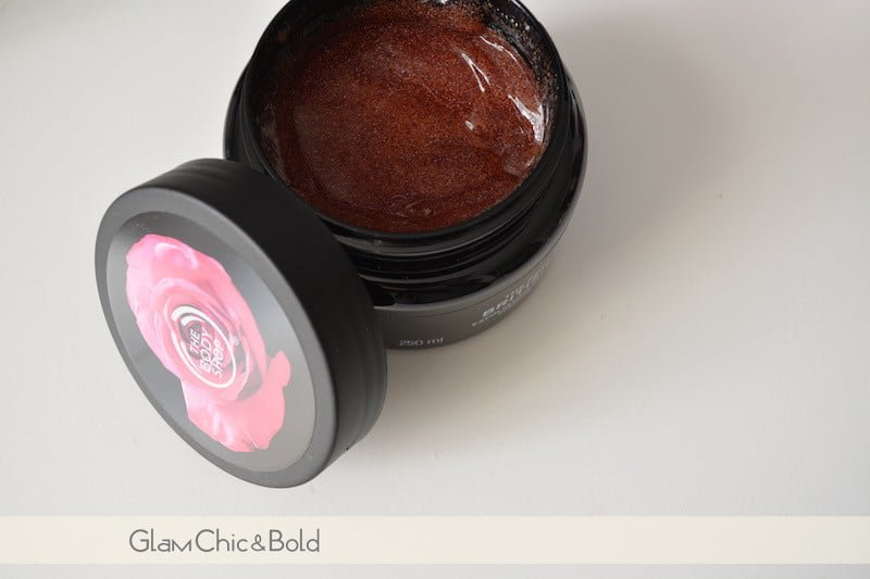 British Rose The Body Shop Scrub