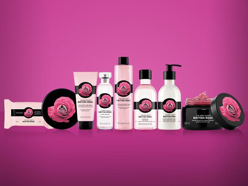 British Rose The Body Shop