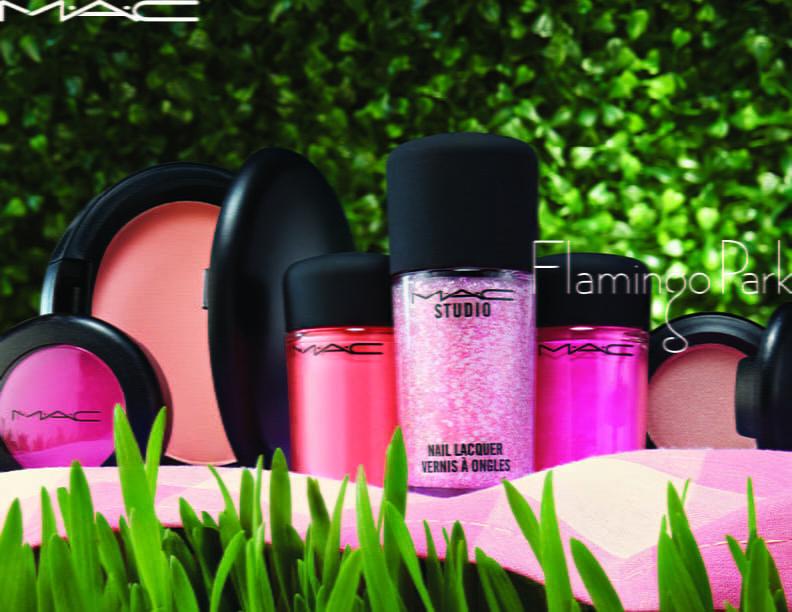 Mac eyeshadow Flamingo Park