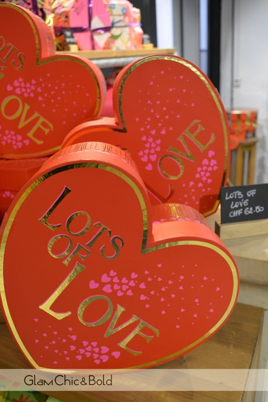 Lots of Love Lush regalo San Valentino