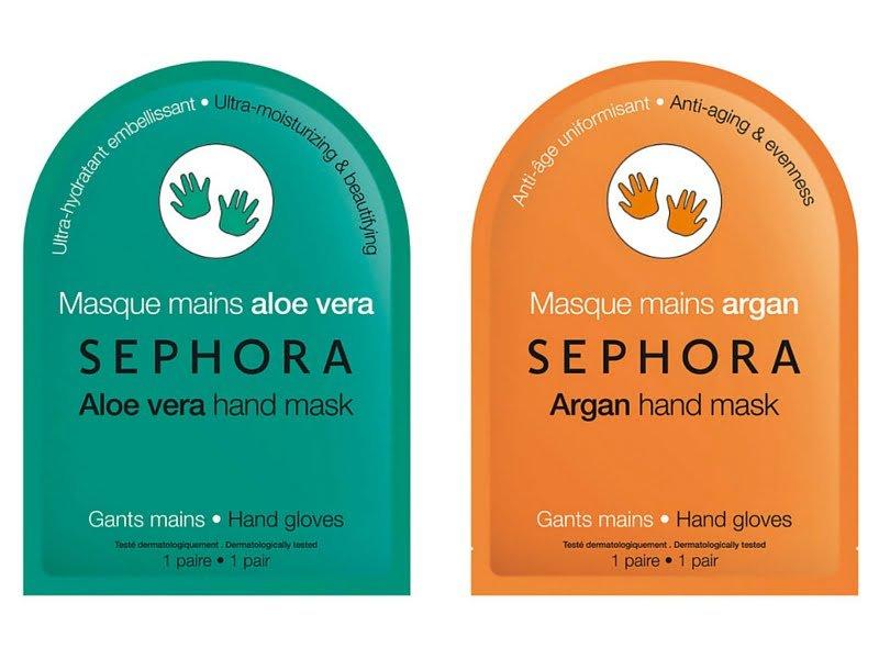 Maschere Sephora per le mani