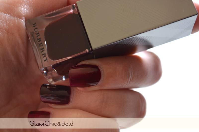 Nail Polish Black Berry 304