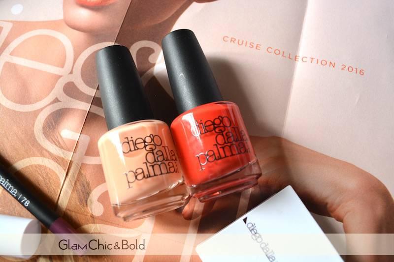 Smalti Sweet Peach & Red Orange Nails Cruise Collection Diego Dalla Palma