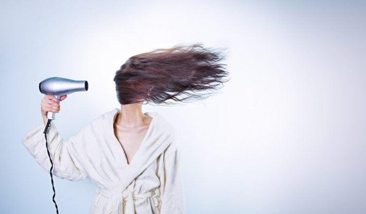 asciugare capelli