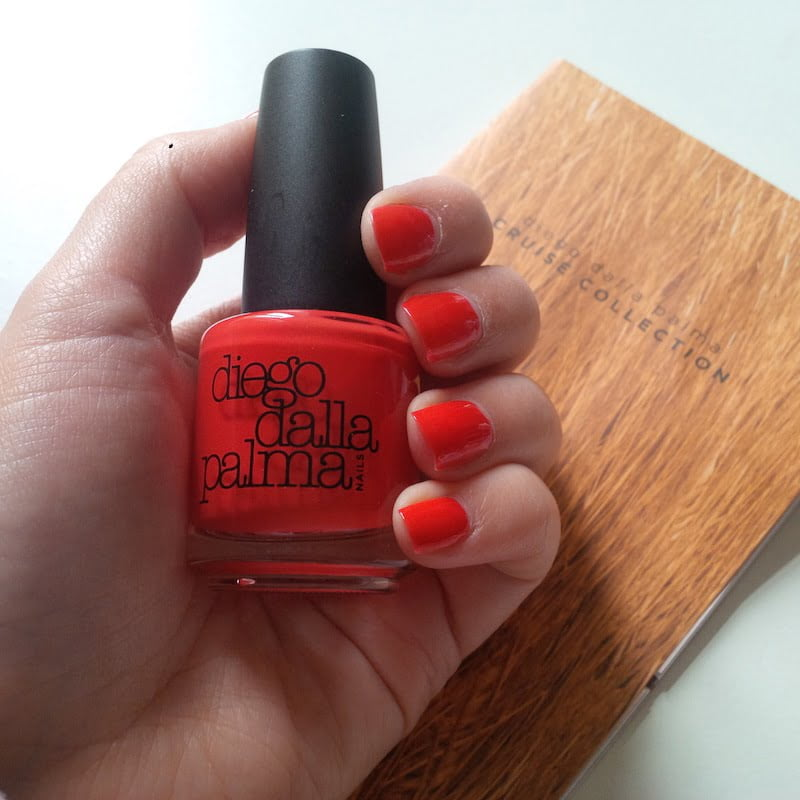 Red Orange Nails Cruise Collection Diego Dalla Palma