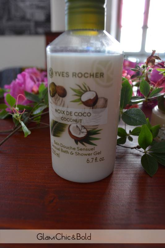 Bagno schiuma Yves Rocher al cocco