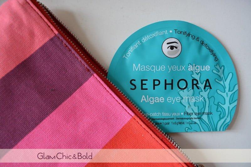 Maschera-patch occhi Sephora in tessuto alle alghe