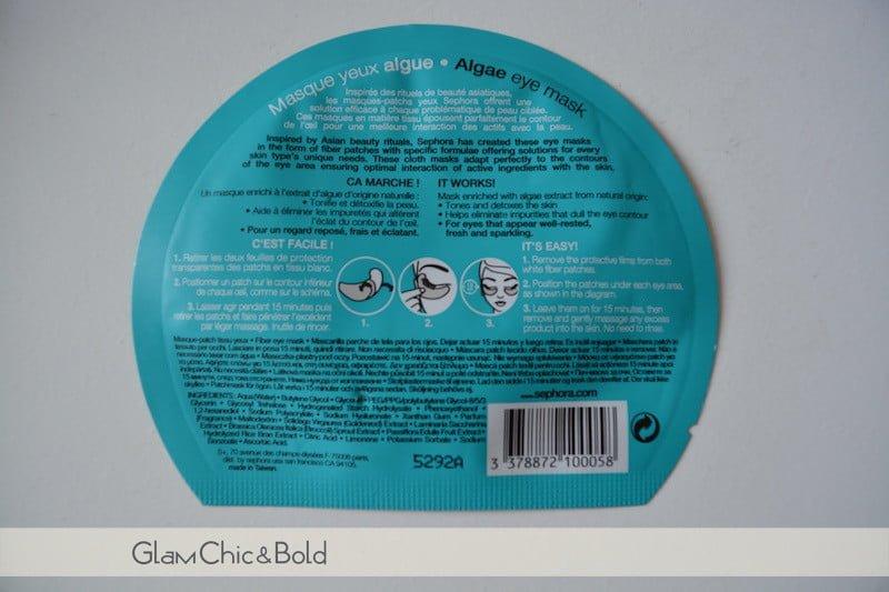 Maschera-patch occhi Sephora