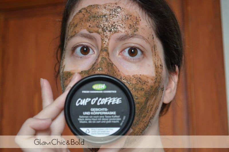 Lush cup o' coffee