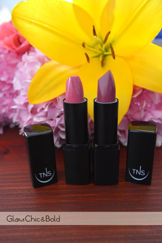Lipstick collection TNS Cosmetics