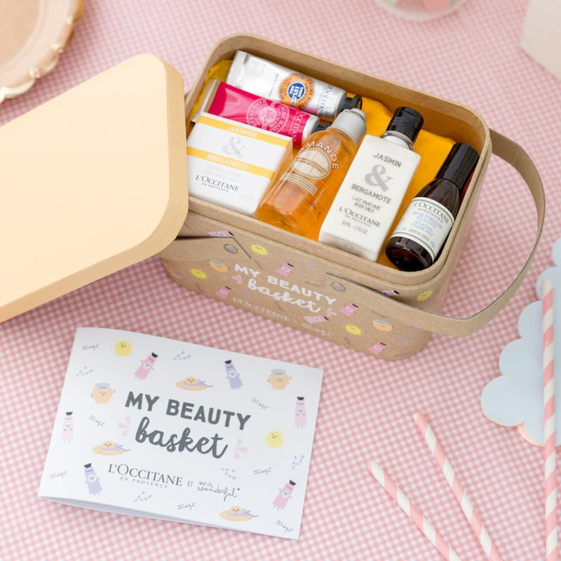 Mon Panier Beauté Mr Wonderful & L'Occitane