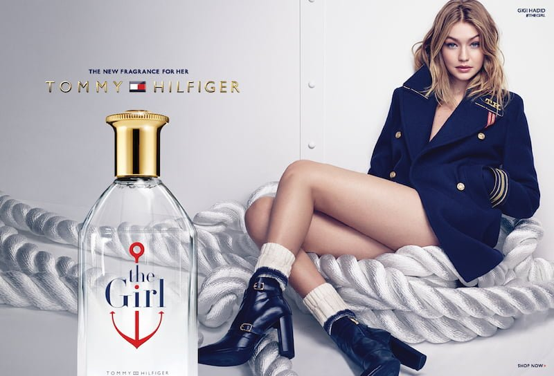 The Girl Tommy Hilfiger
