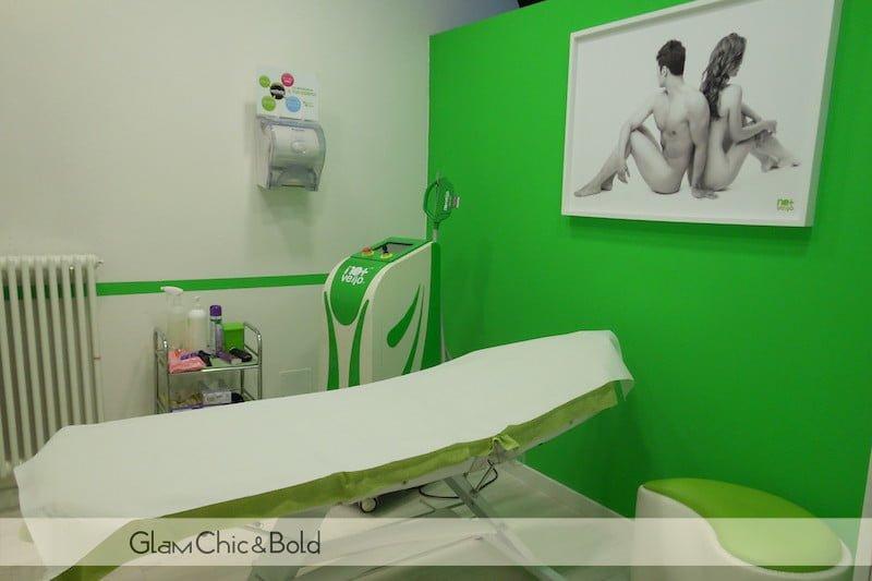 Pulizia viso ultrasuoni No+Vello