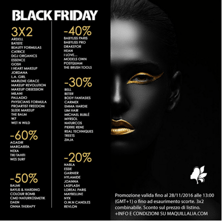 BlackFriday Maquillaia