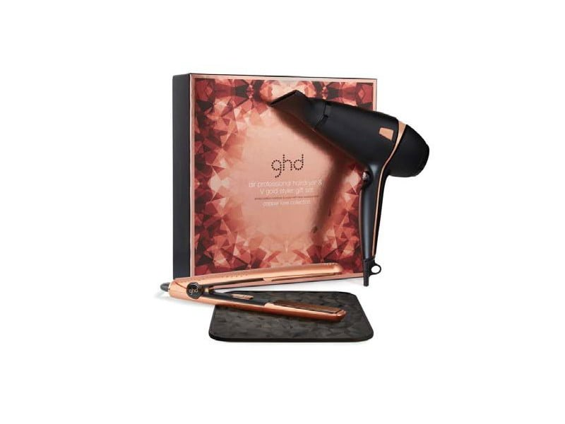 Coffret ghd COPPER LUXE Air Professional Hairdryer & V Gold Styler