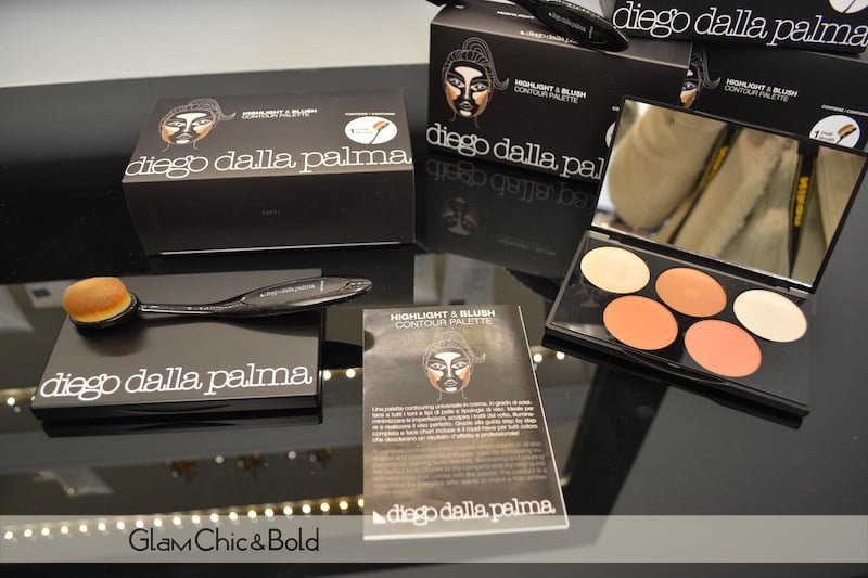 highlight & blush palette Diego dalla Palma