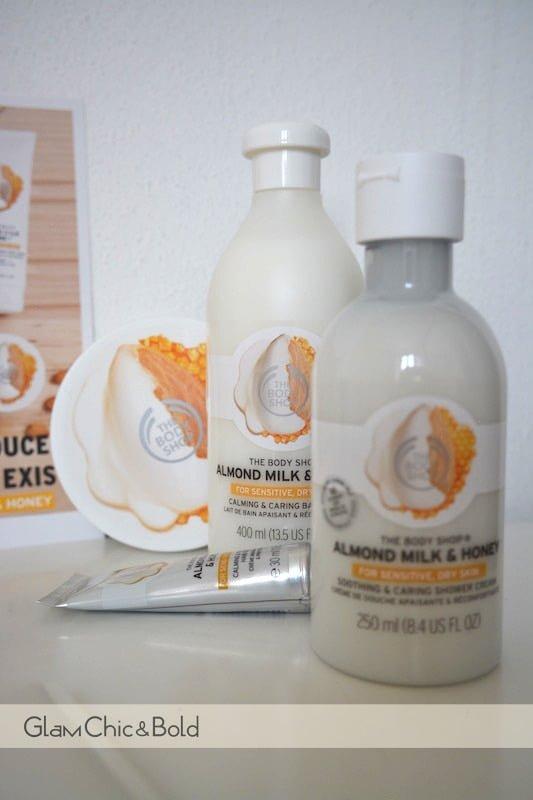 almond Milk honey The Body Shop