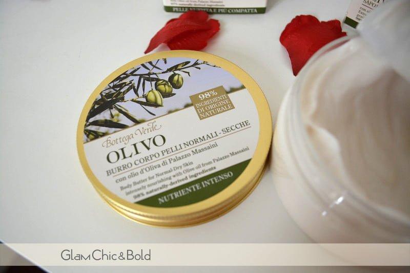 Bottega Verde collezione Olivo