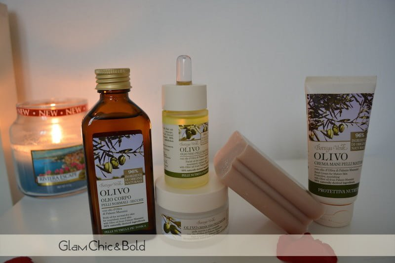 Bottega Verde olio linea Olivo