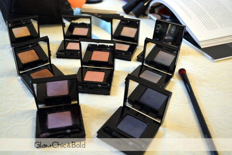 Corail collection eye shadows