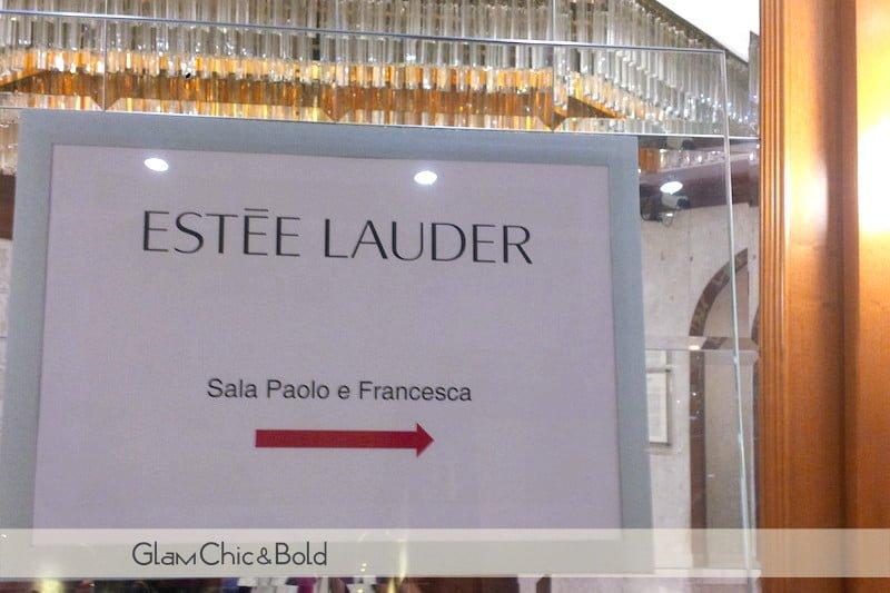 Evento Estée Lauder