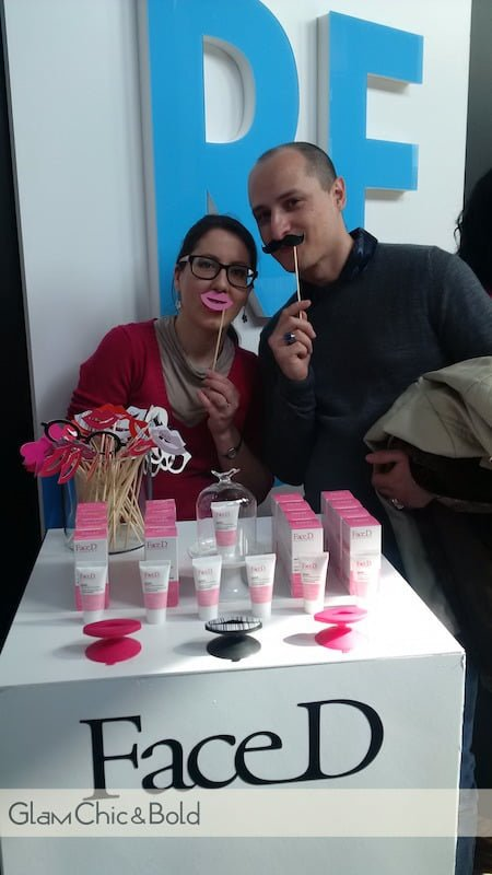 Press Day Sephora - Stand FaceD