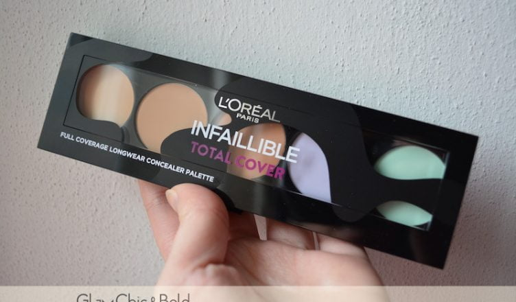 Concealer Palette L'Oréal Infaillible Total Cover
