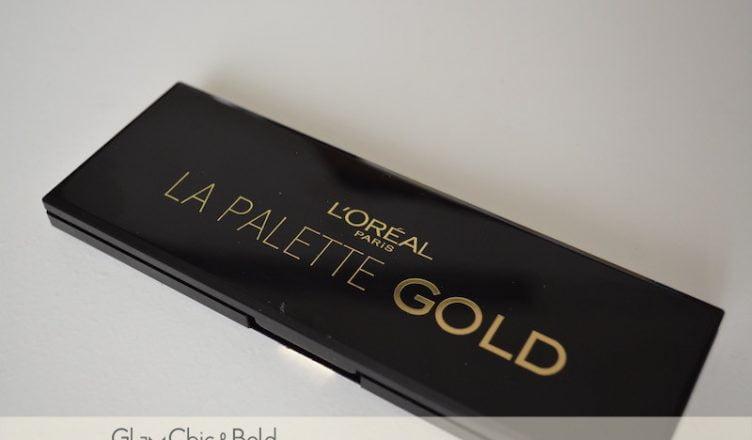 Palette Gold L'Oréal Paris