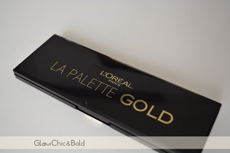 Palette Gold L'Oréal Paris