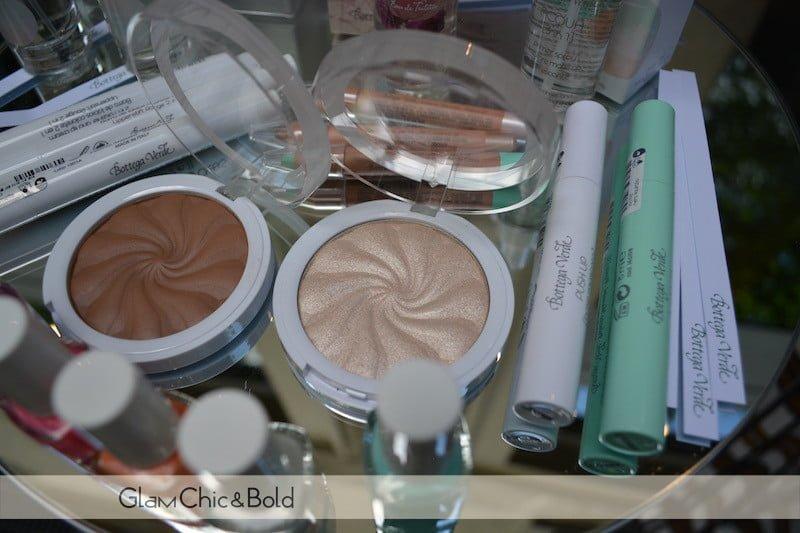 Choco Bronzer & Vanilla Glow e mascara Bottega Verde