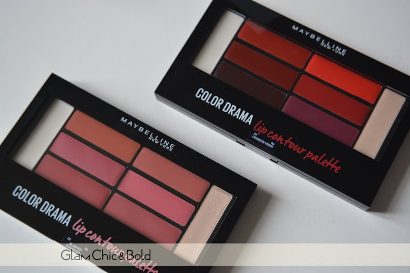 Color Drama Lip Contour Palette Maybelline