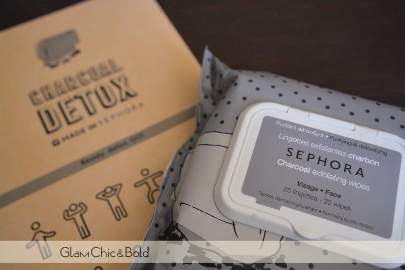 Sephora Charcoal salviette