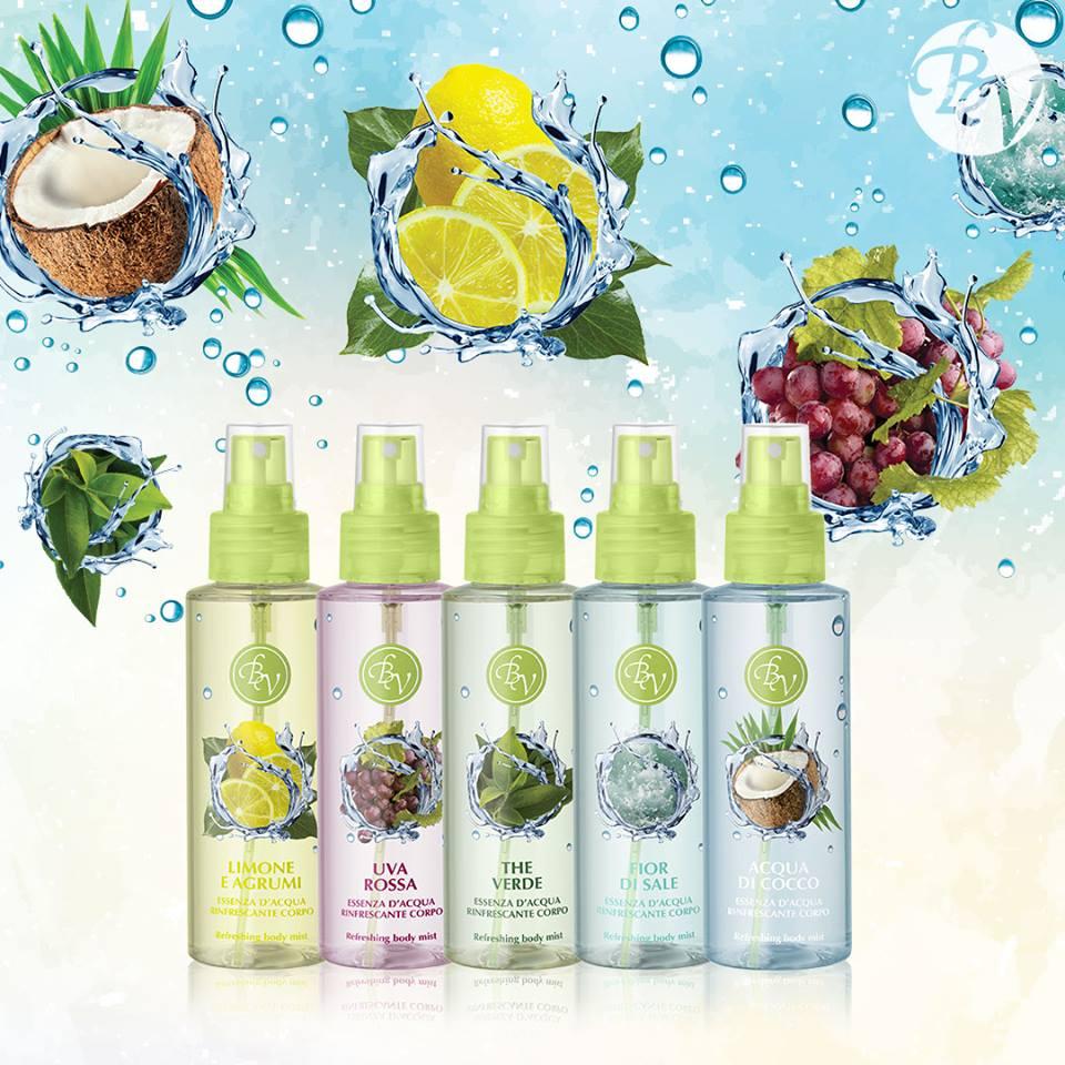 Essenze d'acqua rifrescanti