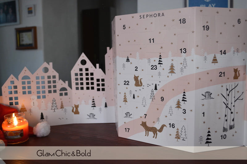 Calendario avvento Sephora 2017