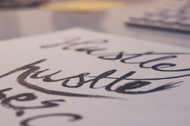 hand lettering Faber-Castell