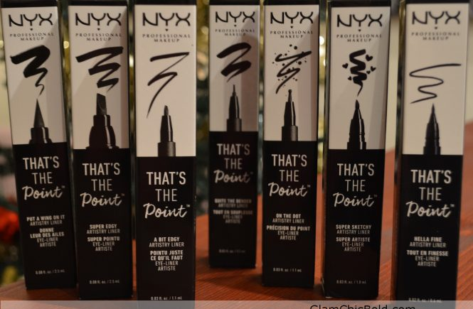 Tha's the point Nyx Eyeliner