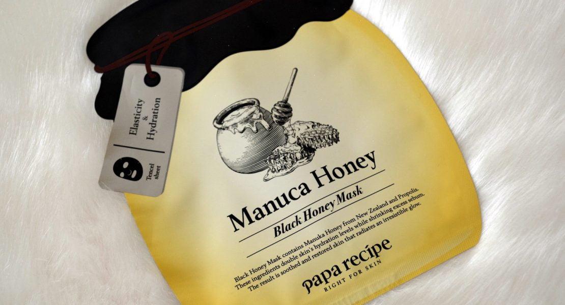 Balck Honey Mask - Macula Honey- Papa Recipe