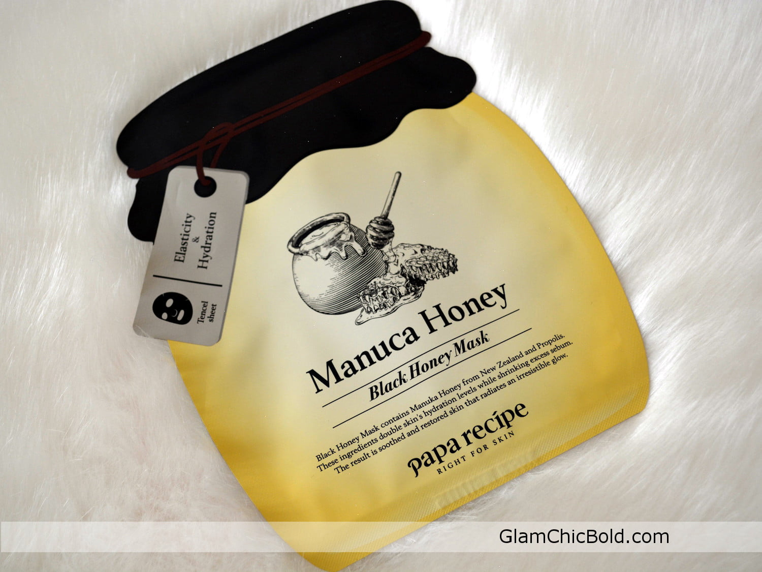 Balck Honey Mask - Macula Honey- Papa Recipe