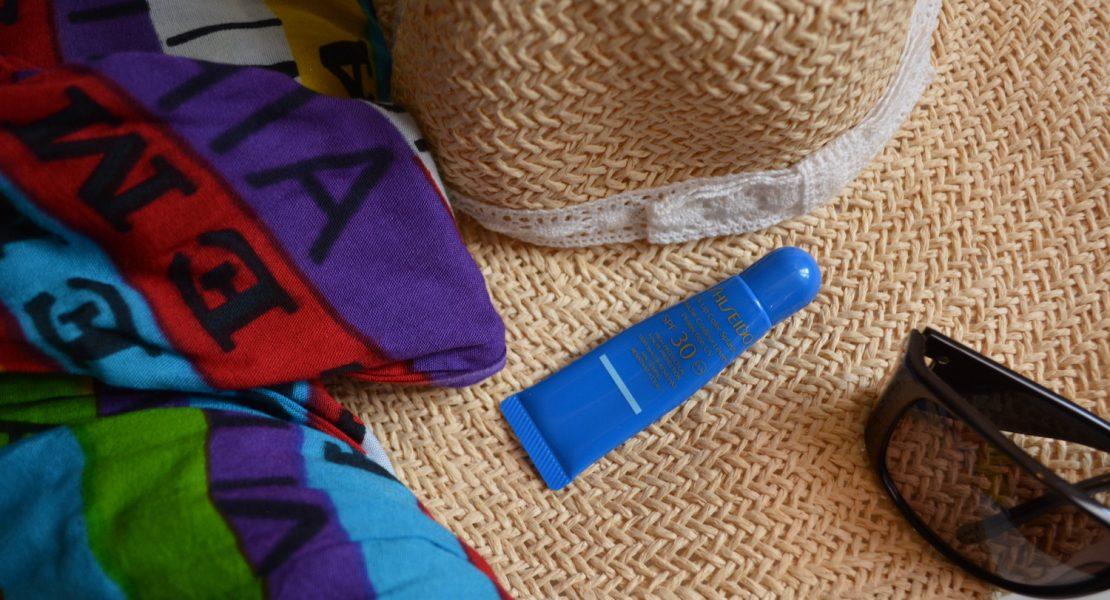 Shiseido balsamo labbra Bleu Tahiti