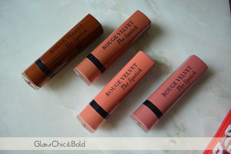 Rouge Velvet Bourjois Nude Collection