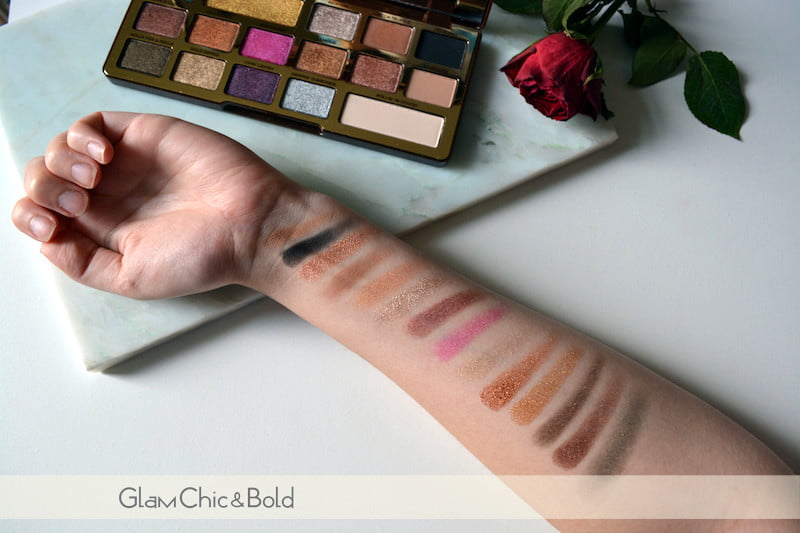 swatches Chocolate Gold Too Faced