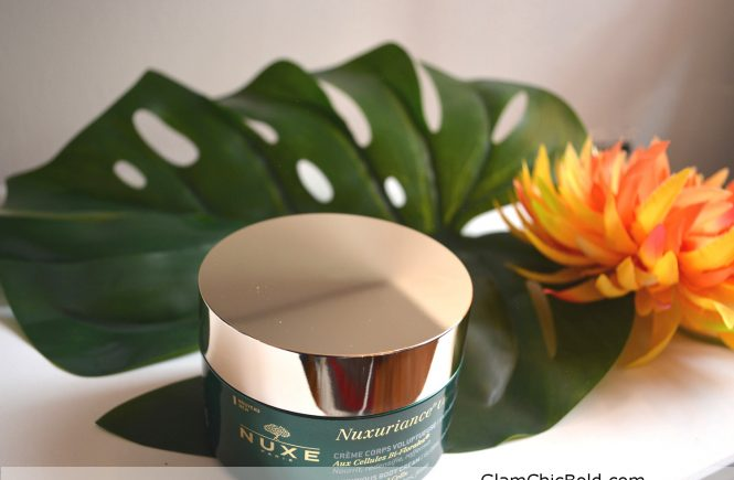 Nuxuriance ultra luxurious body cream global anti-aging