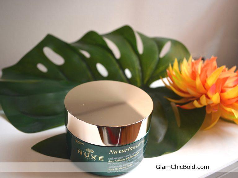 Nuxuriance ultra luxurious body cream global anti-aging