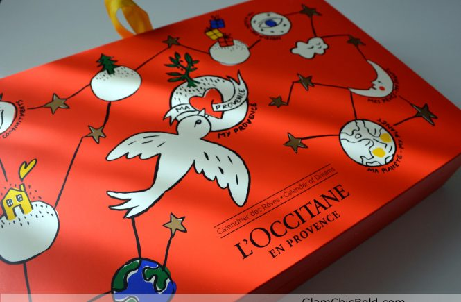 Calendario dell'avvento L'Occitane Natale 2018