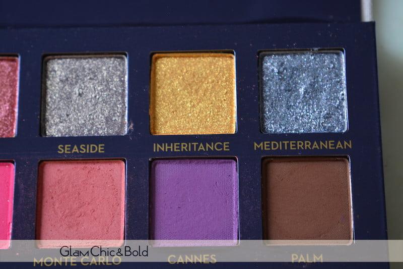 Riviera Anastasia Beverly Hills eyeshadow+pigments