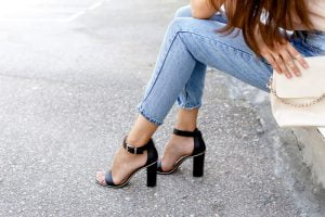 sandali tacco alto