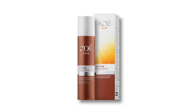 Zoé Sun Selftan Face & Body
