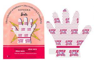 maschera mani Sephora x Barbie