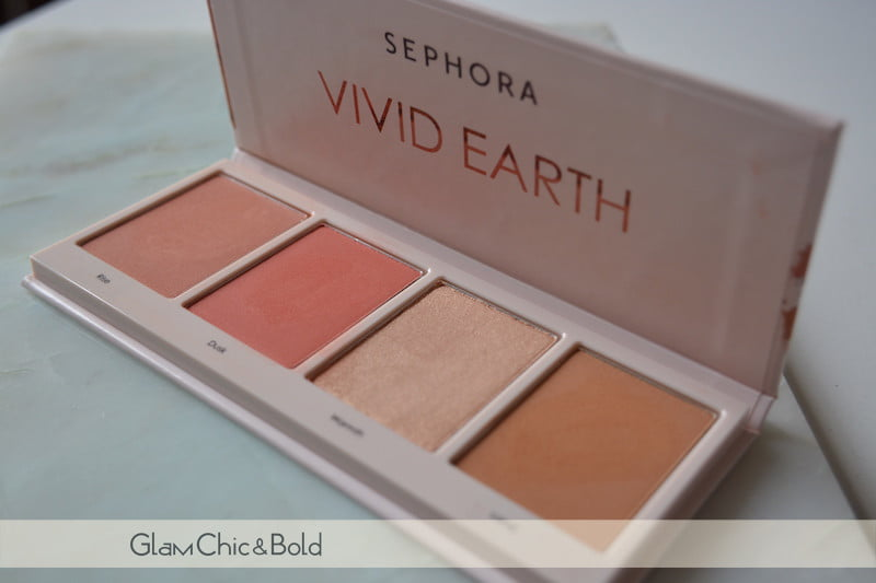 Sephora Vivid Earth face palette