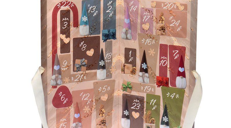 Calendario avvento Bottega Verde Natale 2019